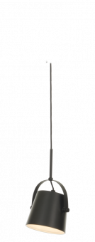 Espresso Taklampa svart/trä 28cm