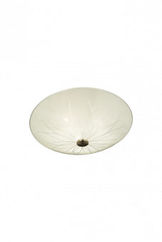 Nerine Plafond vit/stål 50cm