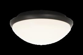 Siracusa Plafond vit/svart 24,8cm