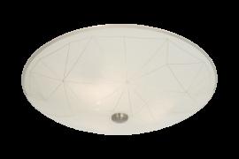 Sektor Plafond vit/stål 42cm