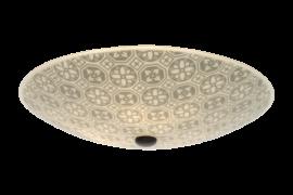 Ulle Plafond vit/grå 42cm
