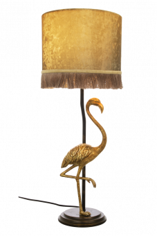 Flamingo Bordslampa svartguld/guld 0cm