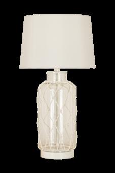 Marine Bordslampa vit/klar 55cm