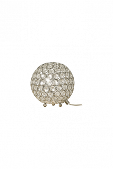 Bling Bordslampa krom/klar 16,5cm