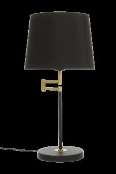 Birka Bordslampa svart/matt mässing 61cm