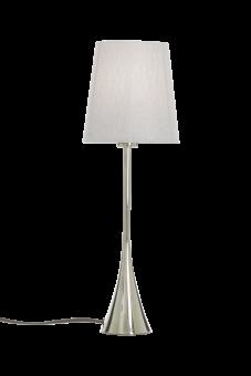 Spira Bordslampa krom 33cm