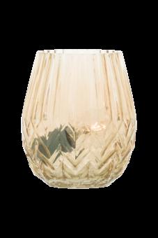 Ottilia Bordslampa amber 18,5cm