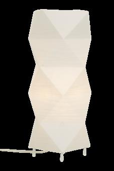 Veck Bordslampa vit 36,5cm