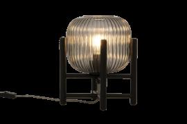 Vinda Bordslampa svart/rökgrå 29cm