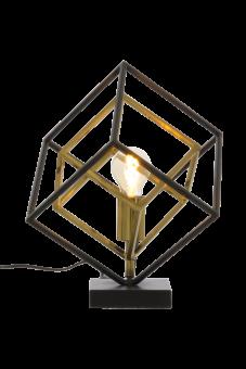 Cubes Bordslampa svart/antik 35,5cm