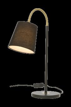 Ljusdal Bordslampa svart/matt mässing 49cm
