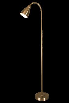 Sarek Golvlampa vit 136cm
