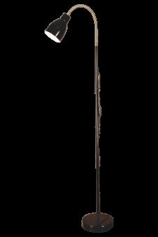 Sarek Golvlampa svart 136cm