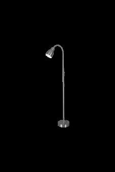 Sarek Golvlampa stål 136cm