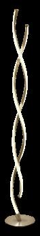 Swirl Golvlampa stål 137cm