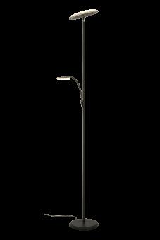 Stockholm Uplight svart 184cm
