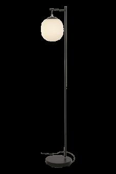 Rille Golvlampa svart/opalvit 150cm