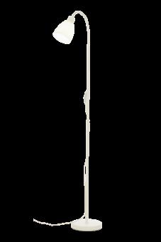 Kiruna Golvlampa vit 123cm