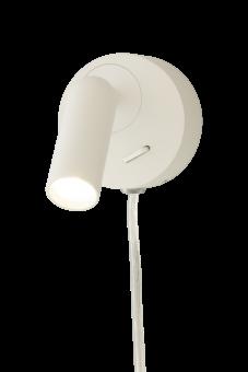 Fenja Vägglampa vit 7,5cm