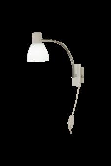 Deka Vägglampa vit 28cm
