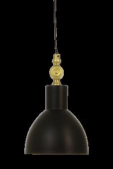 Dublin Fönsterlampa svart/matt mässing 15,5cm