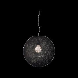 Floke Taklampa svart 38cm