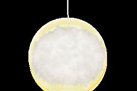 Dun Taklampa vit 40cm
