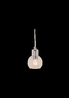Leah Fönsterlampa krom/klar 13cm