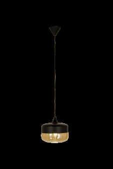 Mitte Taklampa svart/amber 24,5cm