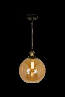 Beatrice Taklampa antik/amber 30cm