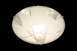 Linje Plafond vit/grå 30cm