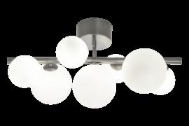 Molekyl Plafond tenn/vit 58cm