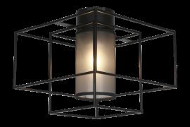 Kube Plafond svart 35cm
