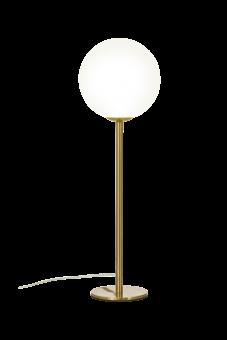 Molekyl Bordslampa matt mässing/opalvit 43cm