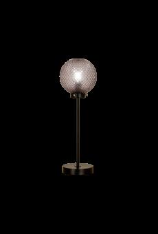 Flory Bordslampa svart/rökgrå 48cm
