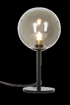 Molekyl Bordslampa svart/rökgrå 27cm