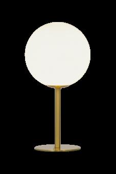 Molekyl Bordslampa matt mässing/vit 27cm