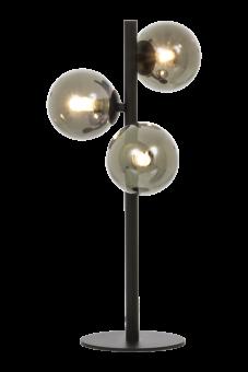 Molekyl Bordslampa svart/rökgrå 46cm
