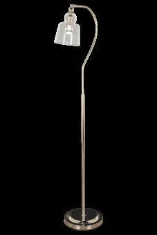 Figaro Golvlampa silver/klar 140cm