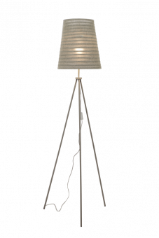Fussili Golvlampa grå 164cm