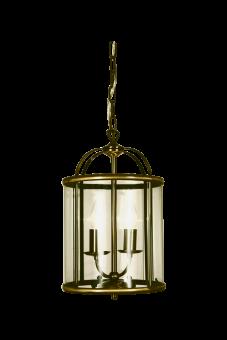 Budgie Taklampa antik 41cm