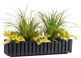 Fency blomlåda självvattnande grå 75cm