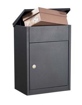 Postlåda till paket Postlåda Allux 500 antracitgrå