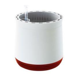 AIRY Blomkruka och Luftrenare vit/röd Venso EcoSolutions