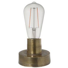 Bordlampa Notice råmässing