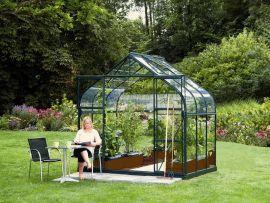 Växthus Vitavia Diana grön/glas 1,9x2,6m / 5m²