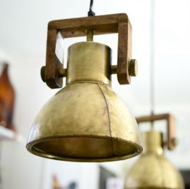 Ashby Fönsterlampa guld 19cm PR Home