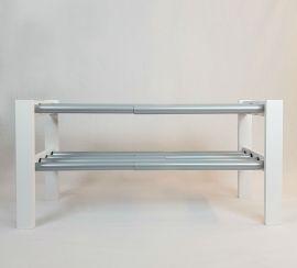 Expand skohylla 80-130cm vit Westroth
