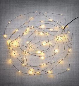 Markslöjd Fenix Ljusslinga utomhus 120 Mini LED
