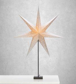 Markslöjd Solvalla stjärna på fot silver 1m